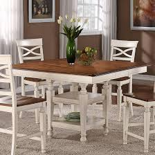white storage dining table house 1271 dining square top counter height dining table