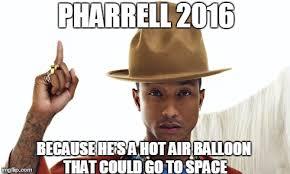 Pharrell Hat Meme - pharrell imgflip