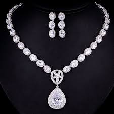 simple diamond sets diamond jewelry just women fashion