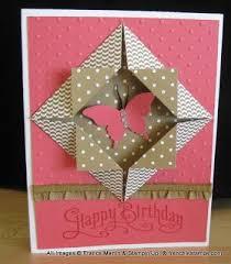 origami birthday card alfaomega info