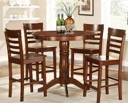 furniture alluring tall round dining room tables for 8 picture