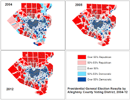 2012 Presidential Election Map by Guide To Election Results Data In Allegheny County U2022 Wprdc