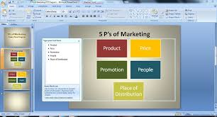how to create the perfect 5ps of marketing powerpoint diagram