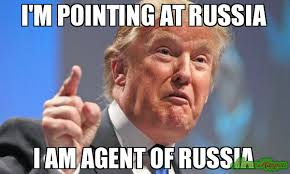 Pointing Meme - i m pointing at russia i am agent of russia meme donald trump