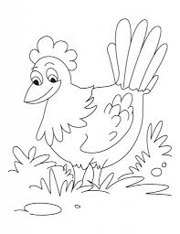 little red hen coloring pages to really encourage in coloring page