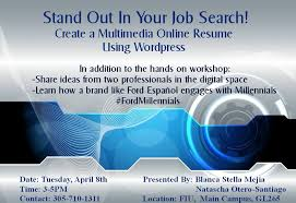 Fiu Resume Social Media Marketing Miami Miami Internet Marketing Miami