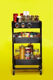 Kitchen Storage Ideas Ikea by The Ikea Råskog Cart As Spice Rack U2014 Ikea Råskog Cart 10 Ways