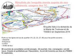 bureau tisseo toulouse enquête transport tisseo 2014 association pont des demoiselles