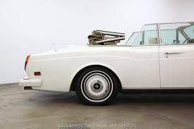 rolls royce white convertible 1988 rolls royce corniche for sale 2040554 hemmings motor news