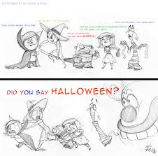 pixar inside out did you say halloween by chiehchen on deviantart