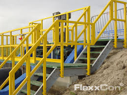 Plastic Handrail Flexxcon Frp Handrails