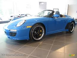 2011 porsche speedster for sale 2011 porsche 911 speedster in pure blue 795654 nysportscars