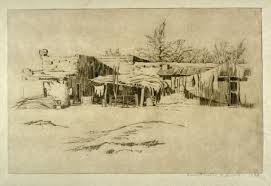 mexican adobe houses harriet morton holmes famsf explore the art