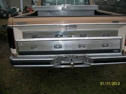 86 Ford F150 Truck Bed - junkyard find 1980 86 bronco tailgate panel ford truck