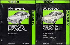 1993 toyota camry repair manual toyota automatic transmission repair shop manual 1993 early 94
