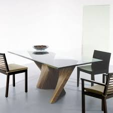 Modern Dining Room Ideas Contemporary Dining Table Intended For Present Household