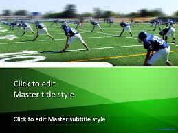 free touchdown ppt template sports ppt templates pinterest