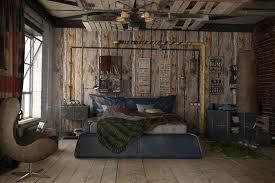 lambris mural chambre design interieur deco loft lambris mural bois chambre coucher