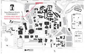 Colorado State University Campus Map by College Community San Diego State University