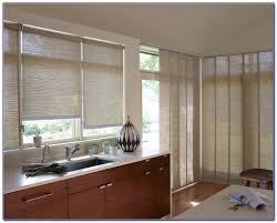 Window Treatments For Patio Doors After Sleek Solar Shade Window Treatments Ideas For Sliding Glass