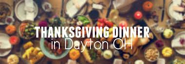 dayton oh restaurants open on thanksgiving 2017