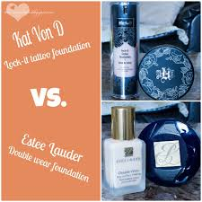 the creative belle kat von d vs estee lauder