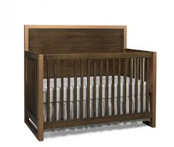 Convertible Crib Espresso by Dolce Babi Nicco Full Panel Convertible Crib In Golden Brown And