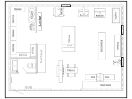 woodworking workshop floor plans