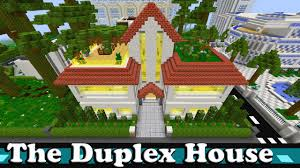 minecraft the duplex house youtube