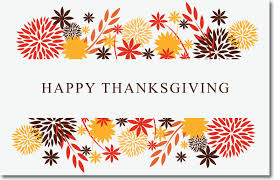 thanksgiving message east burke high school