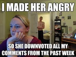 Angry Girlfriend Meme - redditor girlfriend memes quickmeme