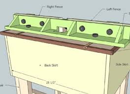 diy router table fence how to build a router table 36 diys guide patterns