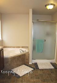 12x24 bathroom tile how to tile a bathroom floor with 12x24 gray tiles hometalk