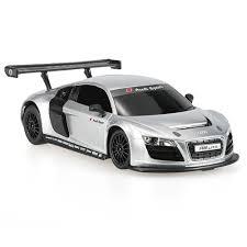 Audi R8 Silver - silver rastar 46800 27mhz 1 24 audi r8 lms rc super sports car