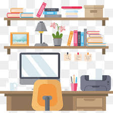Study Table And Bookshelf Designs Study Png Vectors Psd And Icons For Free Download Pngtree