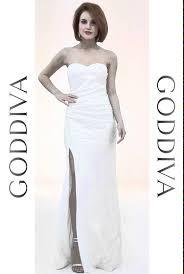 goddiva dresses strapless sequined split maxi dress white goddiva co uk