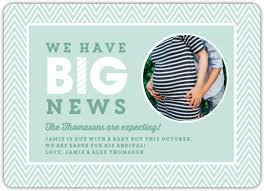 baby belly pregnancy announcement card pregnancy announcement cards