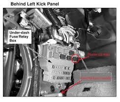 2003 honda accord starter solenoid accord i a 2004 honda accord with an intermittent problem
