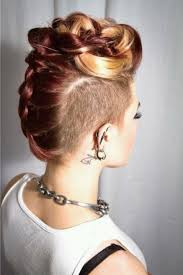 new wedding hairstyles u2013 the trendiest looks for brides mohawks