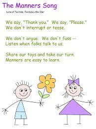ideas about Manners Preschool on Pinterest   Teaching