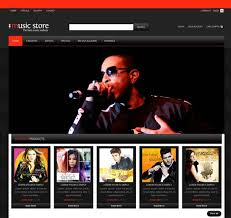 Free Wedding Websites With Music 70 Best Music Website Templates Free U0026 Premium Freshdesignweb