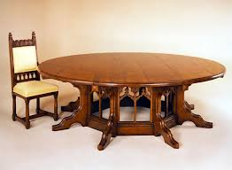 Gothic Dining Room Furniture Round Gothic Dining Room Tables Dining Table Design Ideas