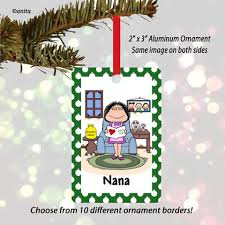 grandmother ornament personalized ornaments cowboy
