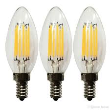 Led Light Bulb Reviews by Best Eledison 3 Pack Led Candle Light Bulb 4w E14 E12 Base Non