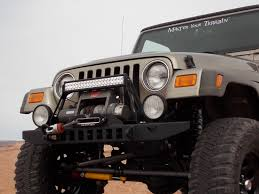 jeep bumpers tj yj front winch bumper bare adventure 97 06 wrangler tj 87 95
