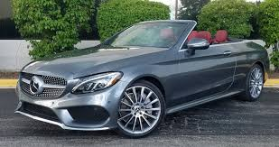 mercedes test 2017 mercedes c300 awd cabriolet the daily drive consumer