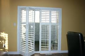 Sliding Shutters For Patio Doors Shutters On Patio Door Plantation Shutters For Sliding