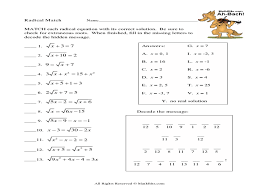 simplifying radical expressions with variables worksheet worksheets