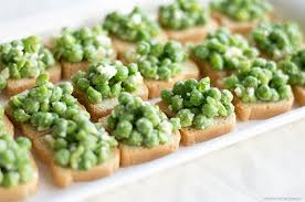 canape toast smashed pea and feta toast