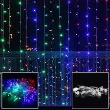 led curtain fairy lights wedding indoor outdoor christmas garden